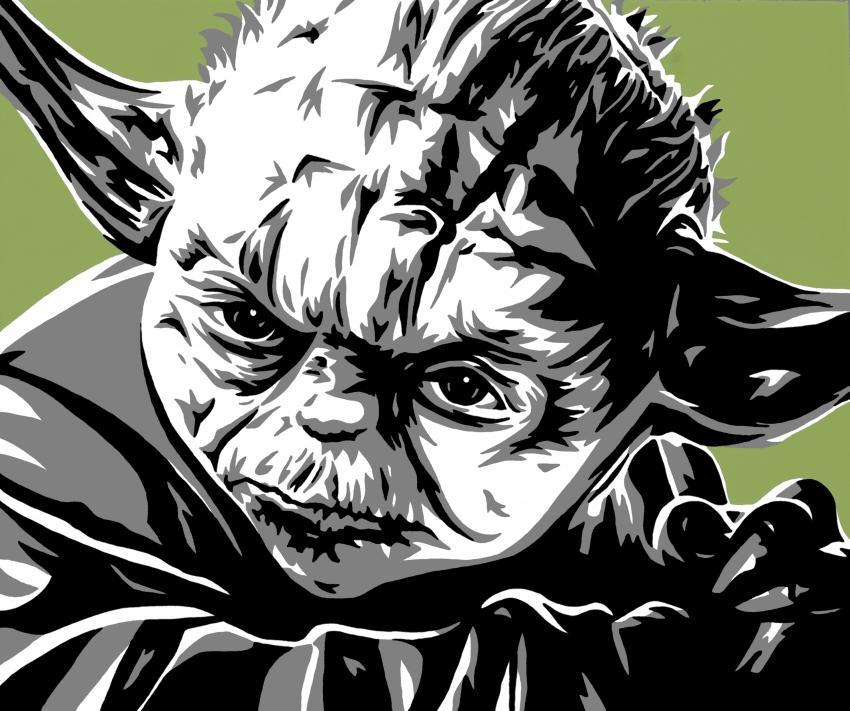 Yoda by iankingart